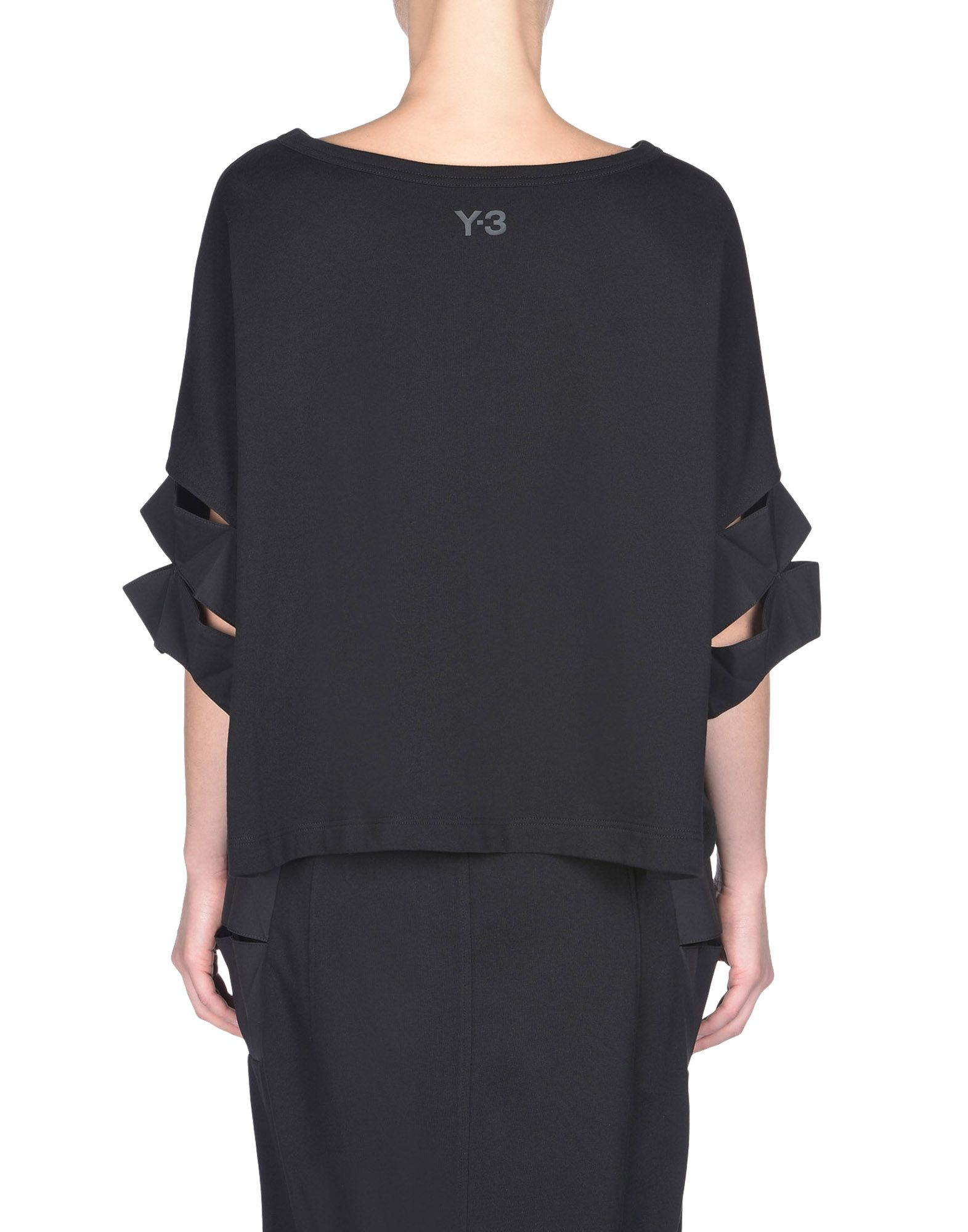 Y-3 FUTURE CRAFT SHIRT TEES & POLOS woman Y-3 adidas