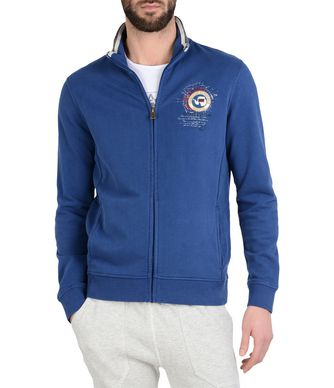 NAPAPIJRI BOCHIL MAN FULL ZIP FLEECE,BLUE