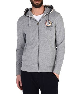 NAPAPIJRI BOCHIL HOOD MAN FULL ZIP FLEECE,GREY
