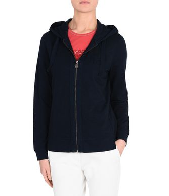 NAPAPIJRI BOXLEY OPEN WOMAN FULL ZIP FLEECE,DARK BLUE