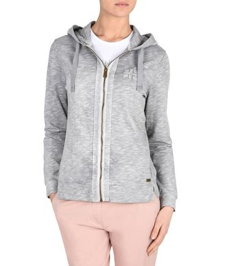 NAPAPIJRI BOXLEY OPEN WOMAN FULL ZIP FLEECE,GREY