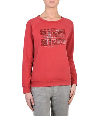 NAPAPIJRI BIDWILL WOMAN SWEATSHIRT,RED