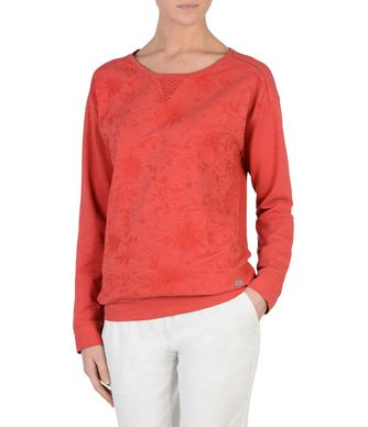 NAPAPIJRI BERRY LEE WOMAN SWEATSHIRT,RED