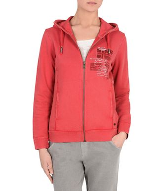 NAPAPIJRI BELROSE WOMAN FULL ZIP FLEECE,RED