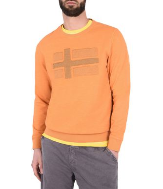 NAPAPIJRI BEJUCAL MAN SWEATSHIRT,PEACH