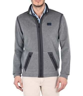 NAPAPIJRI BESSEMER MAN FULL ZIP FLEECE,GREY