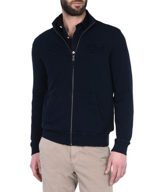 NAPAPIJRI BOCOYNA MAN FULL ZIP FLEECE,DARK BLUE