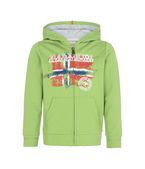 NAPAPIJRI Full zip fleece U K BOSE KID f