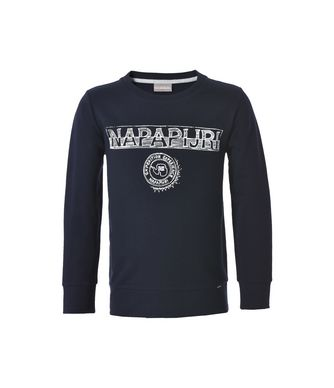 NAPAPIJRI K BAM JUNIOR KID SWEATSHIRT,DARK BLUE