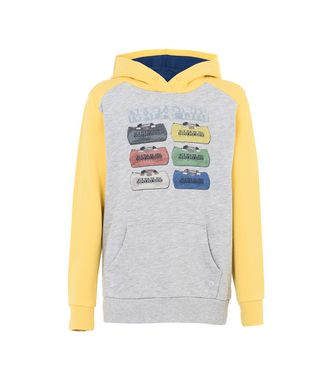 NAPAPIJRI K BRANSON JUNIOR KID SWEATSHIRT,LIGHT GREY