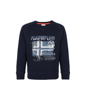 NAPAPIJRI K BASSAIC JUNIOR KID SWEATSHIRT,DARK BLUE