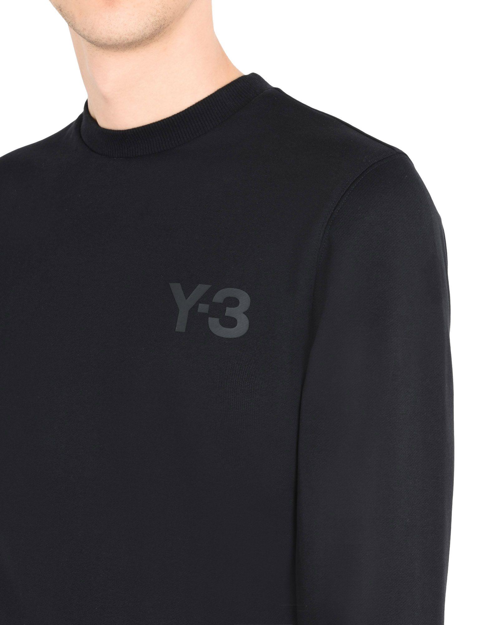 84b672267 Y-3 Y-3 CLASSIC SWEATER Sweatshirt Man a ...
