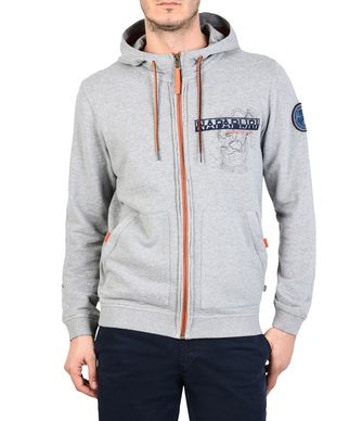 NAPAPIJRI BHERY MAN HOODIE,LIGHT GREY
