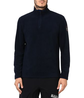 NAPAPIJRI TAMBO MAN FLEECE,DARK BLUE