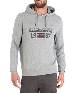 NAPAPIJRI BERTHOW HOOD MAN HOODIE,LIGHT GREY