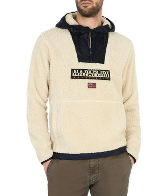 NAPAPIJRI TEIDE MAN FLEECE,BEIGE
