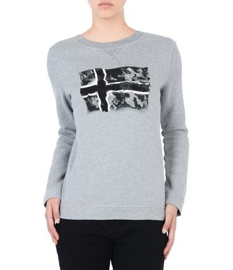 NAPAPIJRI BARISE WOMAN SWEATSHIRT,GREY