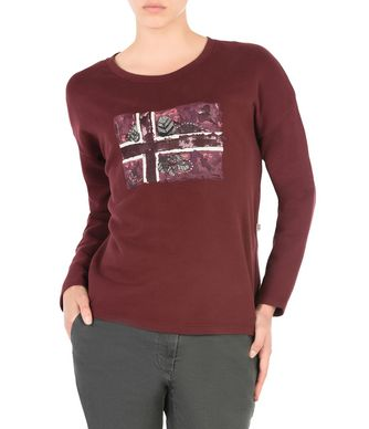 NAPAPIJRI BARISAN FEMME SWEAT-SHIRT,BORDEAUX