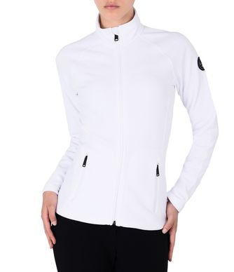 NAPAPIJRI TAMBO FULL ZIP WOMAN FLEECE,WHITE