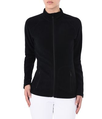 NAPAPIJRI TAMBO FULL ZIP WOMAN FLEECE,BLACK