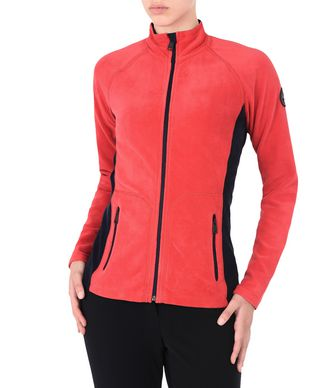 NAPAPIJRI TAMBO FULL ZIP WOMAN FLEECE,RED
