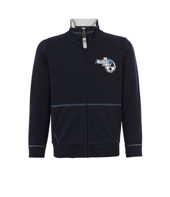 NAPAPIJRI K BABOS FULL ZIP KID ZIP SWEATSHIRT,DARK BLUE