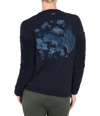 NAPAPIJRI BILA WOMAN SWEATSHIRT,DARK BLUE