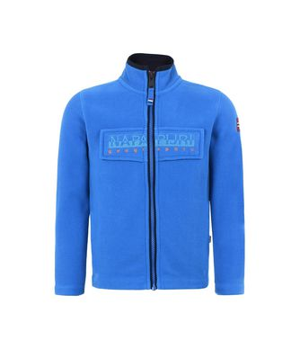 NAPAPIJRI K TAMBO FULL ZIP JUNIOR ENFANT POLAIRE,BLEU D'AZUR