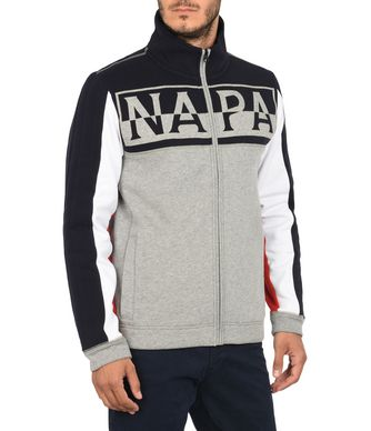 NAPAPIJRI TYONEK MAN FLEECE,GREY