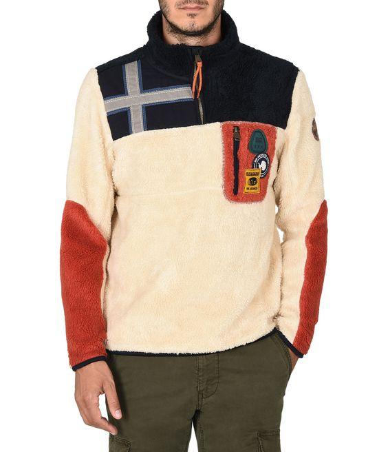 NAPAPIJRI YUPIK Zip sweatshirt Man f