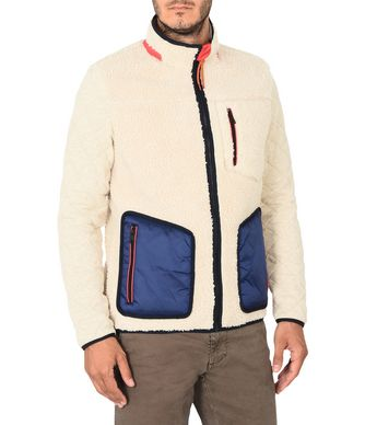NAPAPIJRI TERAM MAN FLEECE,IVORY
