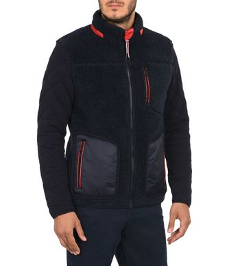NAPAPIJRI TERAM MAN FLEECE,DARK BLUE