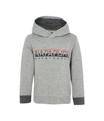 NAPAPIJRI K BOYSTER HOOD JUNIOR KID HOODIE,GREY