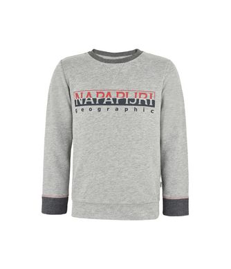 NAPAPIJRI K BOYSTER JUNIOR KID SWEATSHIRT,LIGHT GREY