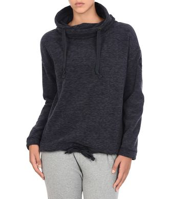 NAPAPIJRI TRAFOI WOMAN FLEECE,DARK BLUE