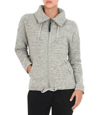 NAPAPIJRI TRAFOI FULL ZIP WOMAN FLEECE,GREY