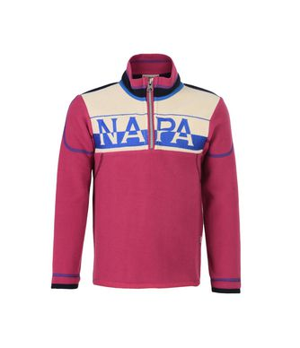 NAPAPIJRI K TIF JUNIOR KID ZIP SWEATSHIRT,FUCHSIA