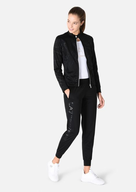 Tracksuit in technical fabric