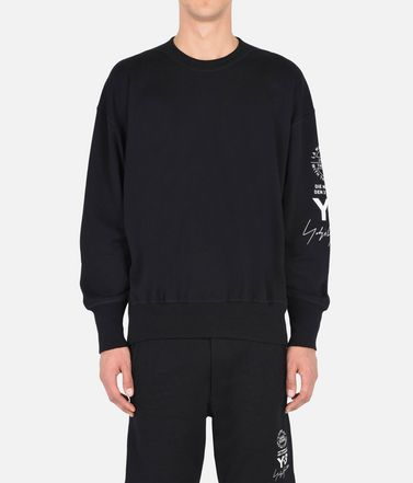 Y-3 Sweatshirt Man Y-3 GRAPHIC CREW SWEATER r