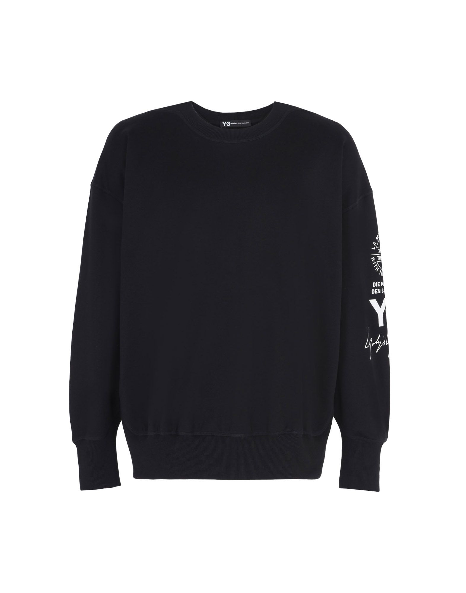 Y-3 GRAPHIC CREW SWEATER SWEATSHIRTS man Y-3 adidas