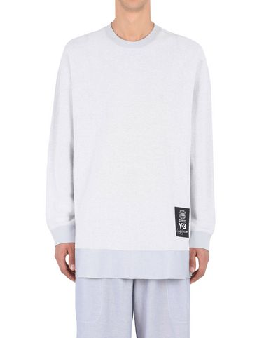 Y-3 SHEER SWEATER SWEATSHIRTS man Y-3 adidas