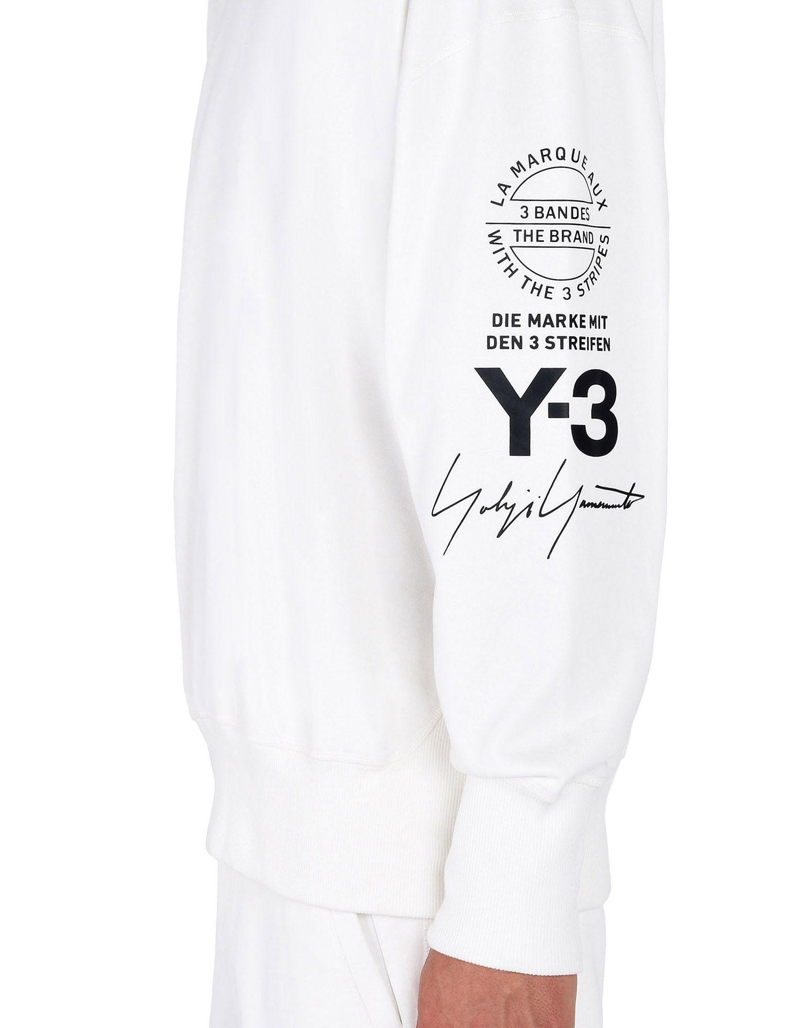 Y-3 Y-3 GRAPHIC CREW SWEATER Sweatshirt Man a