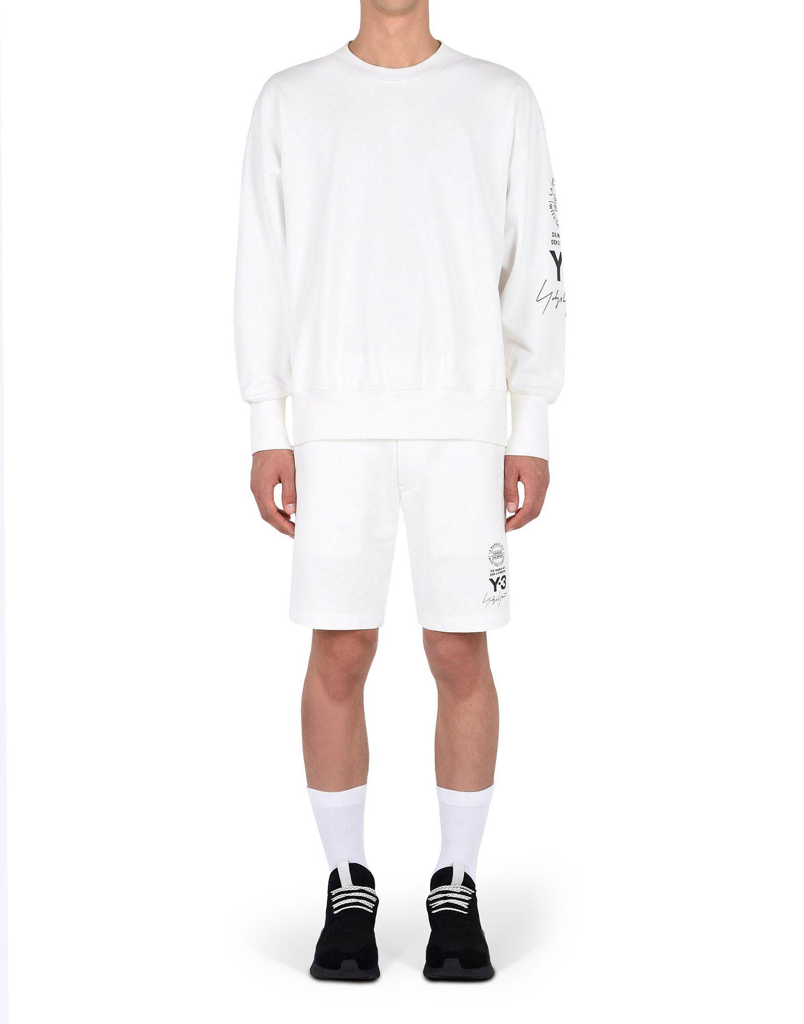 Y-3 Y-3 GRAPHIC CREW SWEATER Sweatshirt Man d