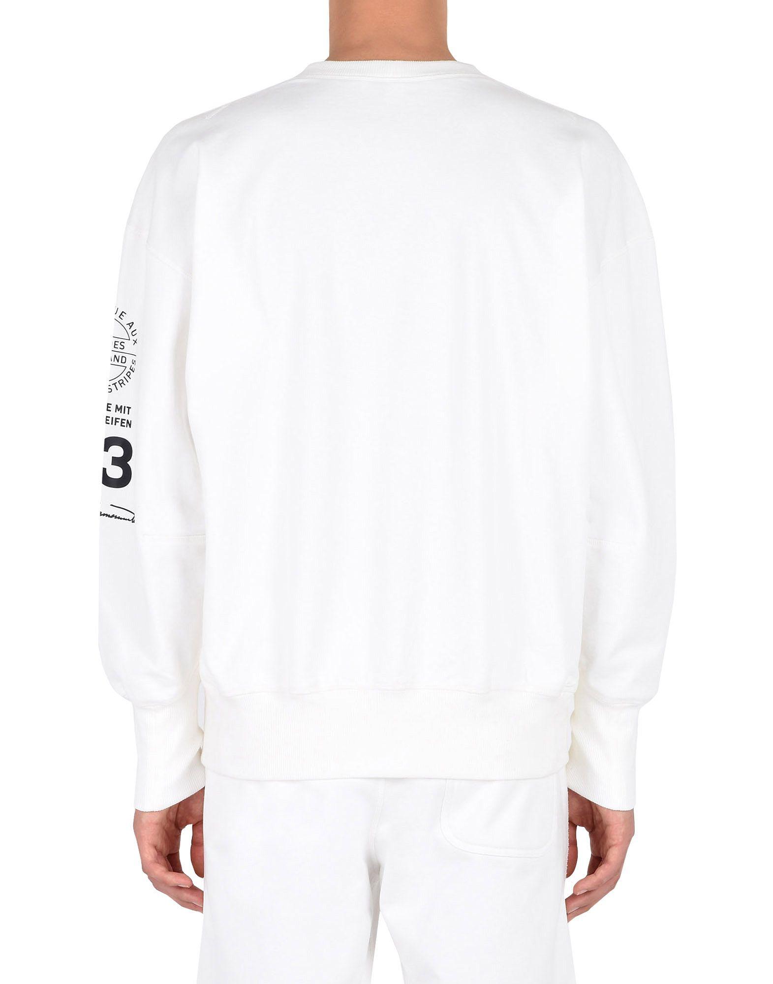 Y-3 Y-3 GRAPHIC CREW SWEATER Sweatshirt Man e