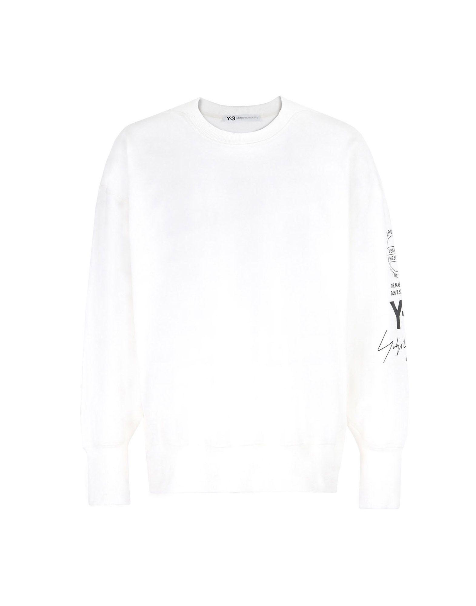 Y-3 Y-3 GRAPHIC CREW SWEATER Sweatshirt Man f