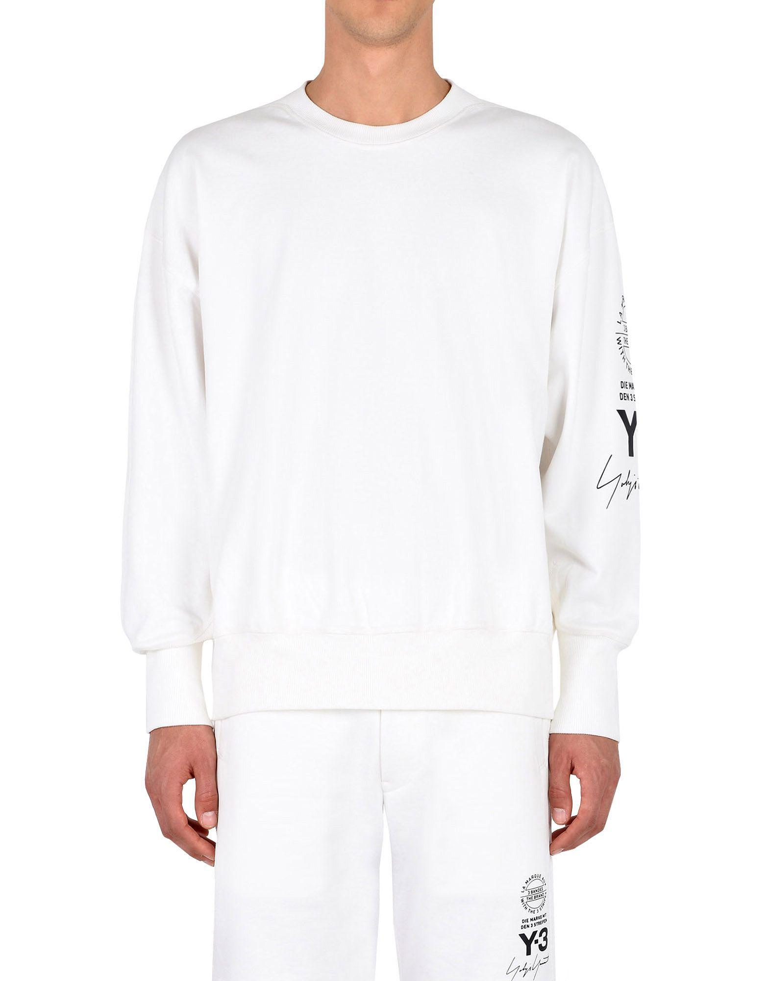 Y-3 Y-3 GRAPHIC CREW SWEATER Sweatshirt Man r