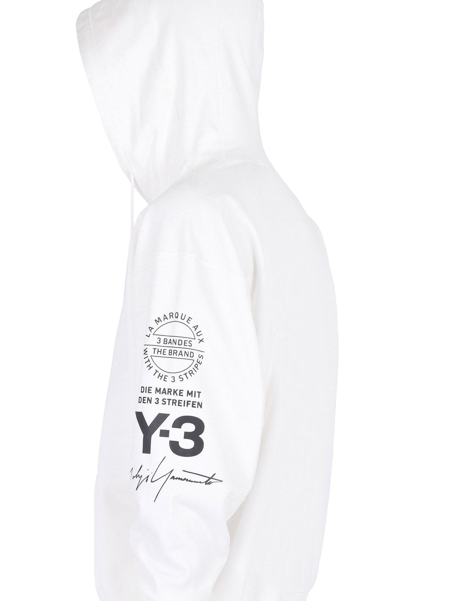 Y-3 GRAPHIC HOODIE SWEATSHIRTS man Y-3 adidas