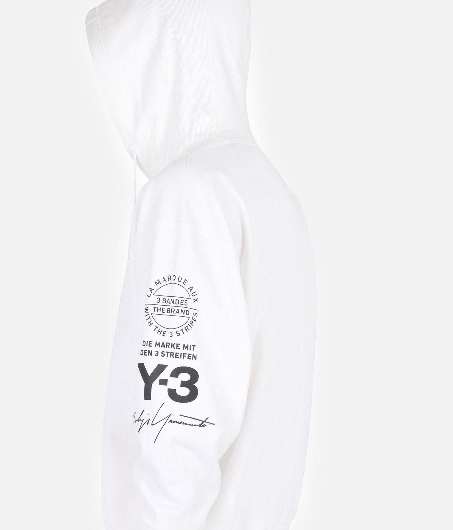 Y-3 Y-3 GRAPHIC HOODIE Hooded sweatshirt Man a