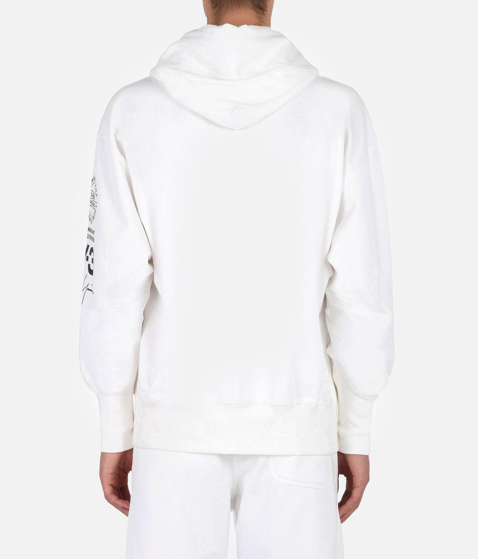 Y-3 Y-3 GRAPHIC HOODIE Hooded sweatshirt Man e