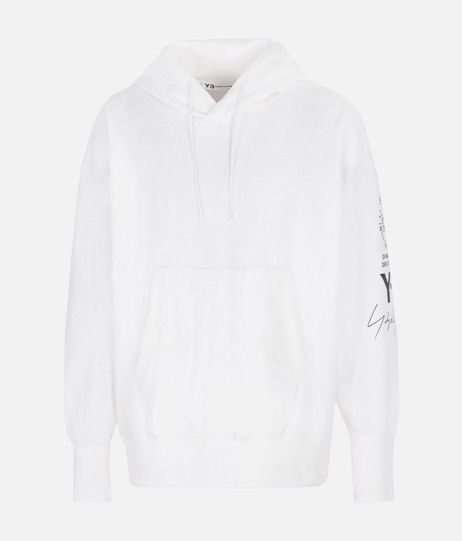 Y-3 Y-3 GRAPHIC HOODIE Hooded sweatshirt Man f